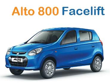 Alto 800 Facelift