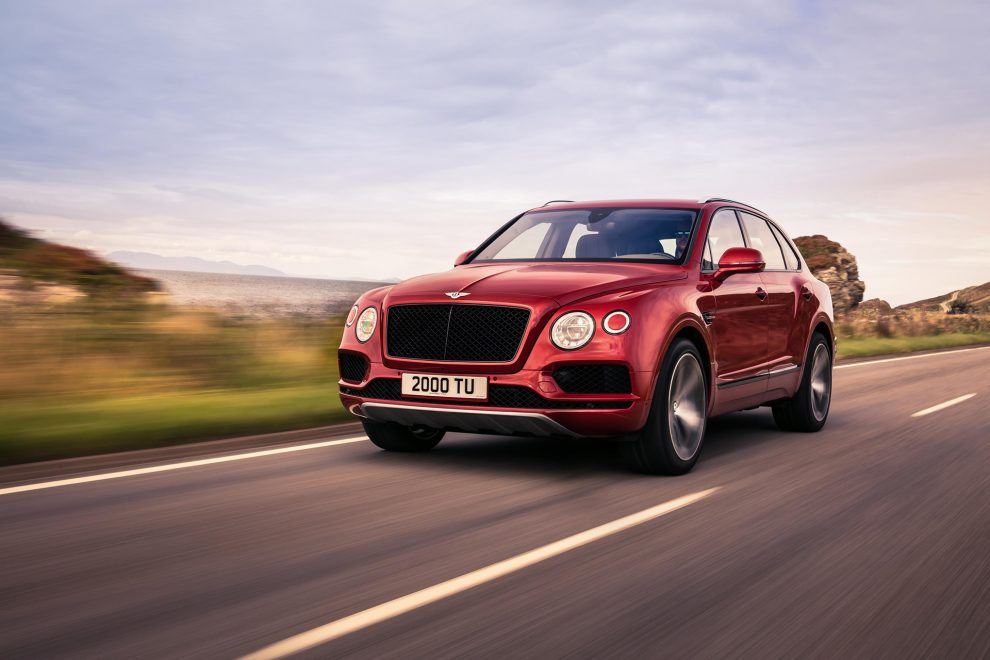 Bentley Bentayga turbo V8
