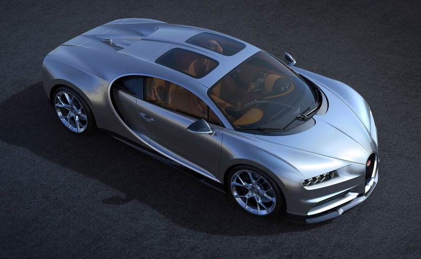 Bugatti Chiron Gets New Glass Roof With Increased Headroom