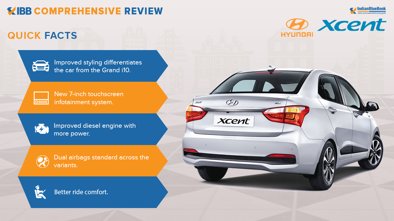 Hyundai Xcent Quick Facts