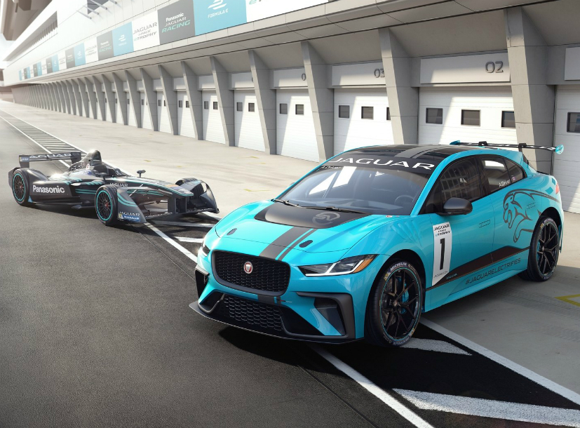Jaguar I Pace Race car is debuting in Berlin E Prix