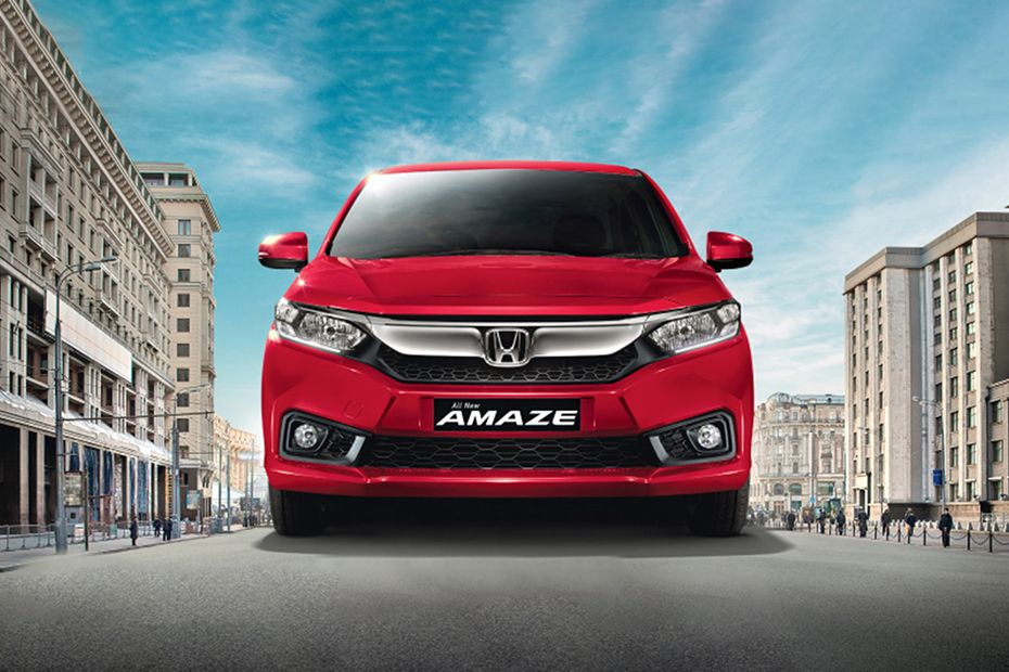 Specifications of the new Honda Amaze Variants
