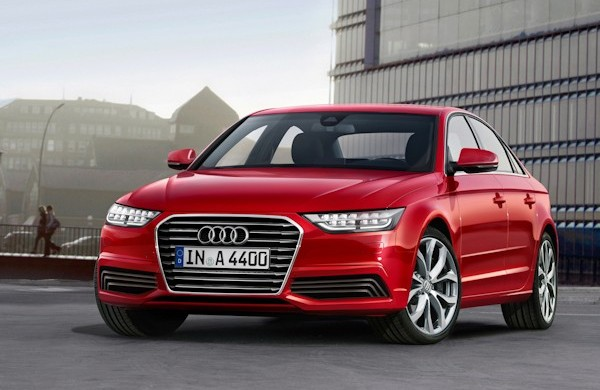 2016 Audi A4 Red