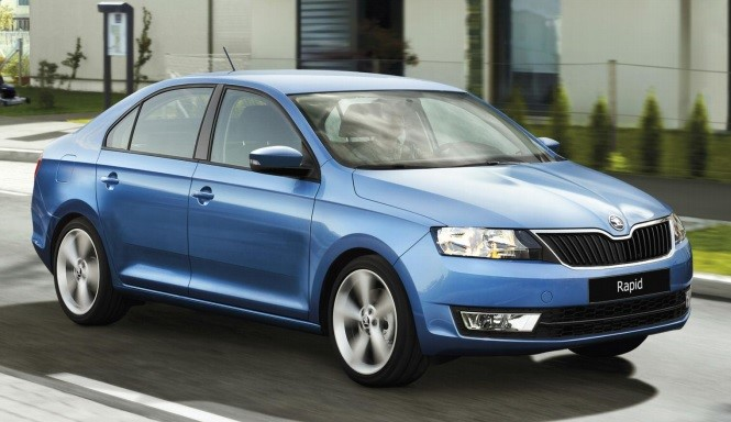 2016 Skoda Rapid Facelift