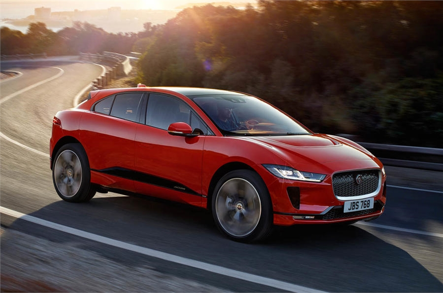 All-electric Jaguar I-Pace SUV revealed in production form