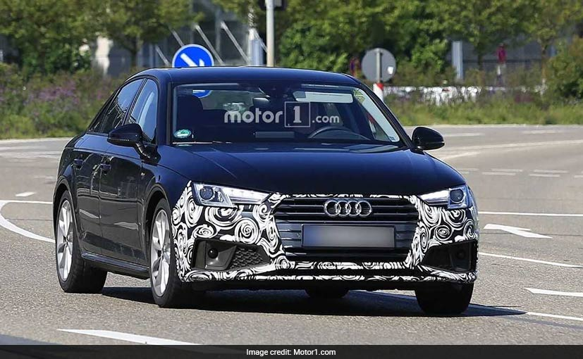 Audi A4 To Get A Snazzy Look In 2019