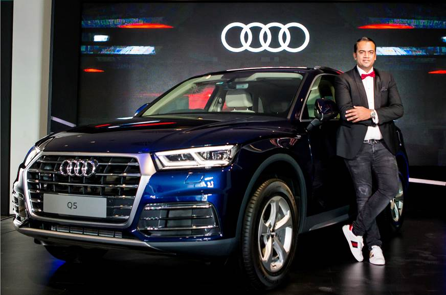 Audi Q5 petrol version has been launched