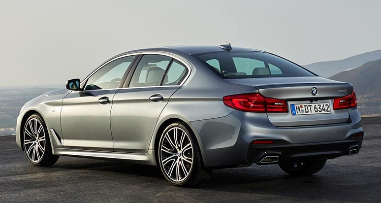 BMW 5 Series Rear Facing