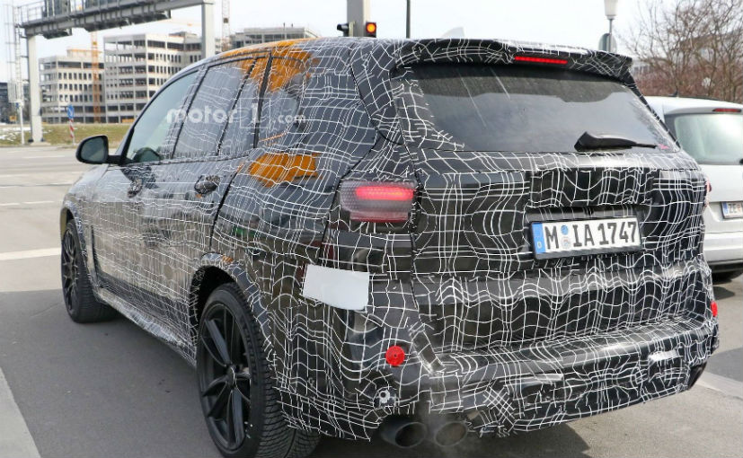 BMW X5 M Out For A Test Drive After Full Body Production