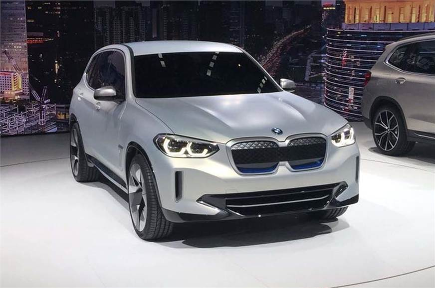 BMW iX3 revealed in Beijing motor show