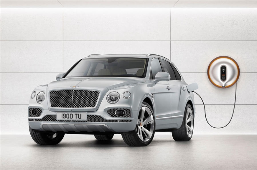 Bentley launches new plug-in hybrid