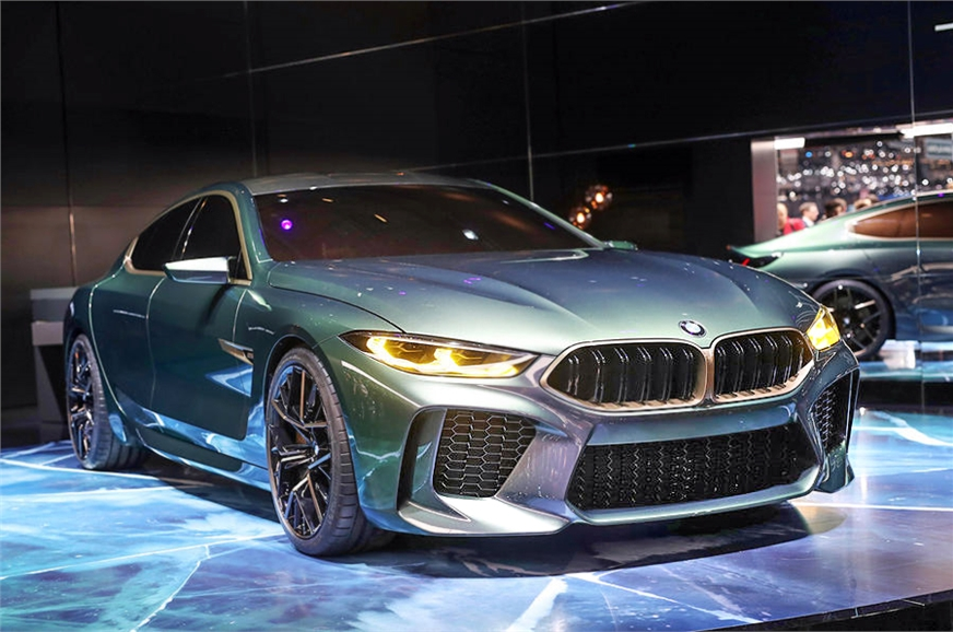 Concept Of New BMW M8 Gran Coupe That Is Showcased At The Geneva