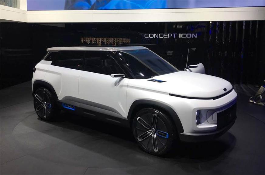 Concept Icon by Geely has been unveiled in Beijing