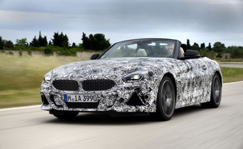 First Look of BMW Z4