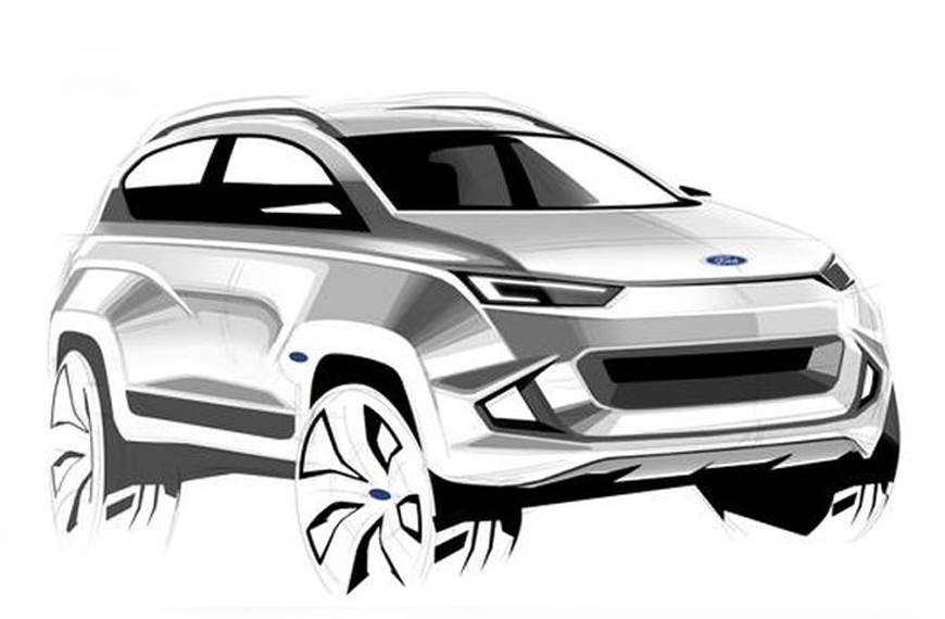 Ford Electric Crossover all set for a reveal in 2020