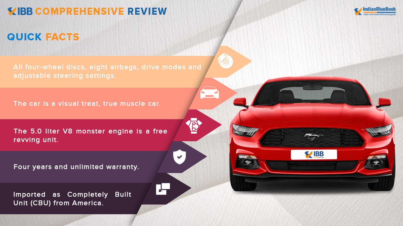 Ford Mustang Quick Facts