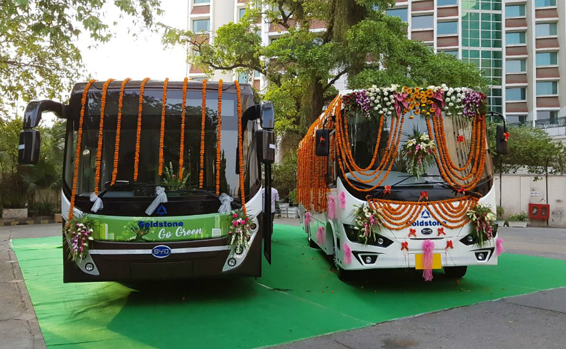 Goldstone BYD launches electric urban bus with over 200km range in India