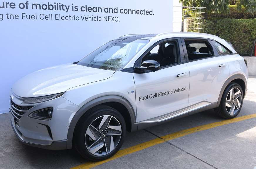 Hyundai Nexo SUV showcased in India