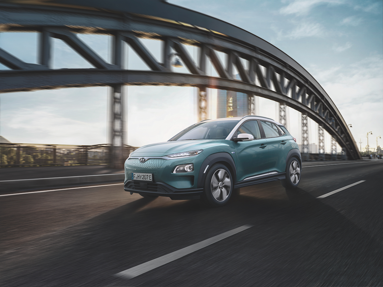 Hyundai officially reveals Kona Electric model