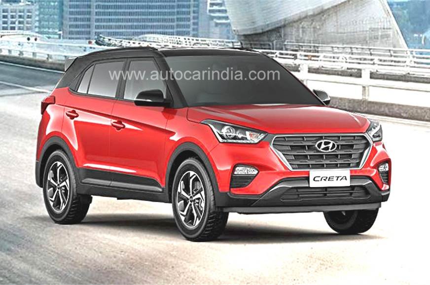 Hyundai Creta Facelift _ The new and classy Avatar unveiled