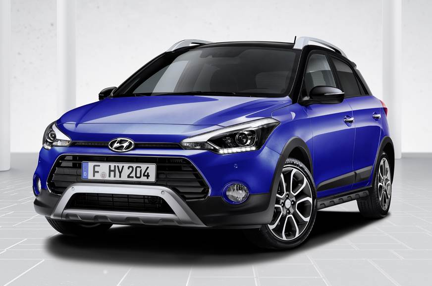 Hyundai i20 Active facelift has been disclosed