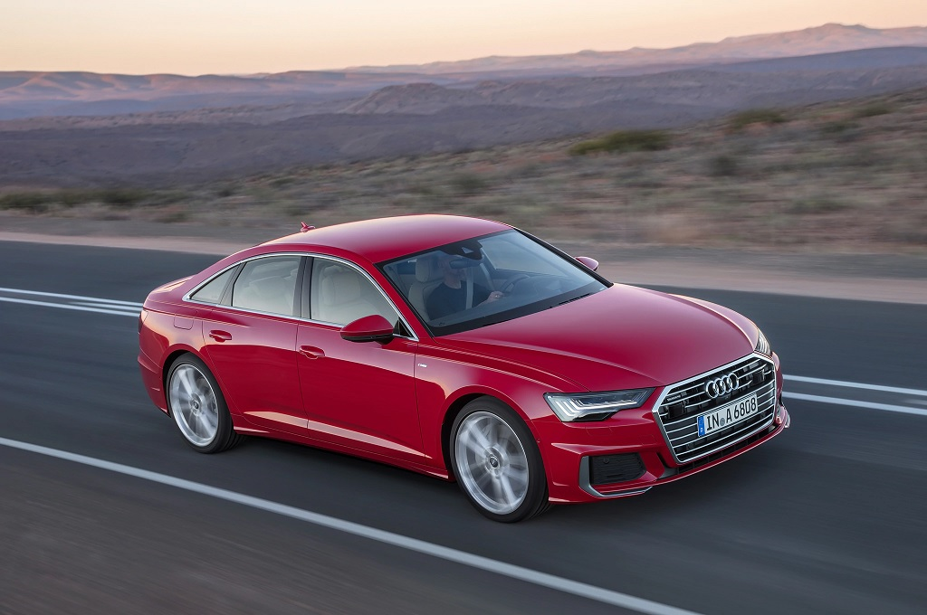 India-bound new Audi A6 revealed