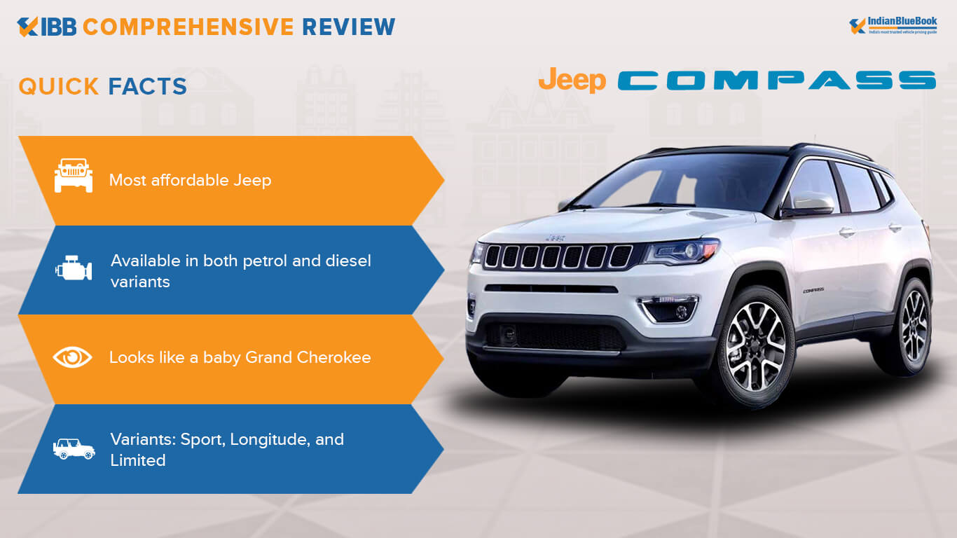 Jeep Compass Quick Facts