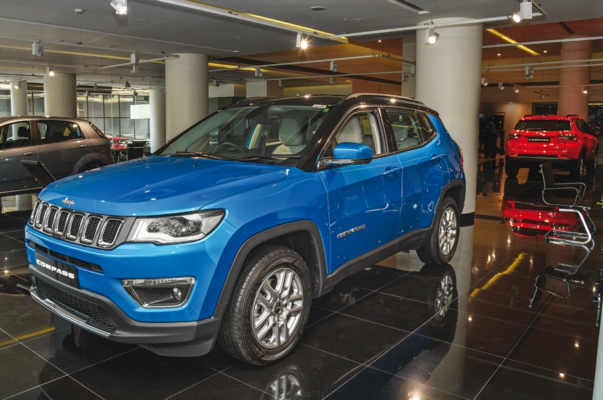 Jeep compass has marked sales of the car over the 19000 mark