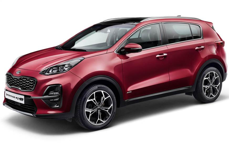 Kia reveals the facelifted version of the SUV Sportage