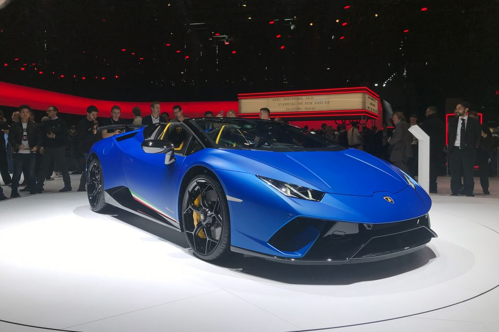 Ibb Blog Lamborghini Showcased Its Huracan Performante Spyder