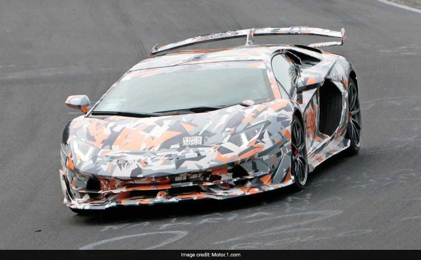 Lamborghini Aventador SVJ Nurburgring Laptime Leaked, Faster Than Current Record