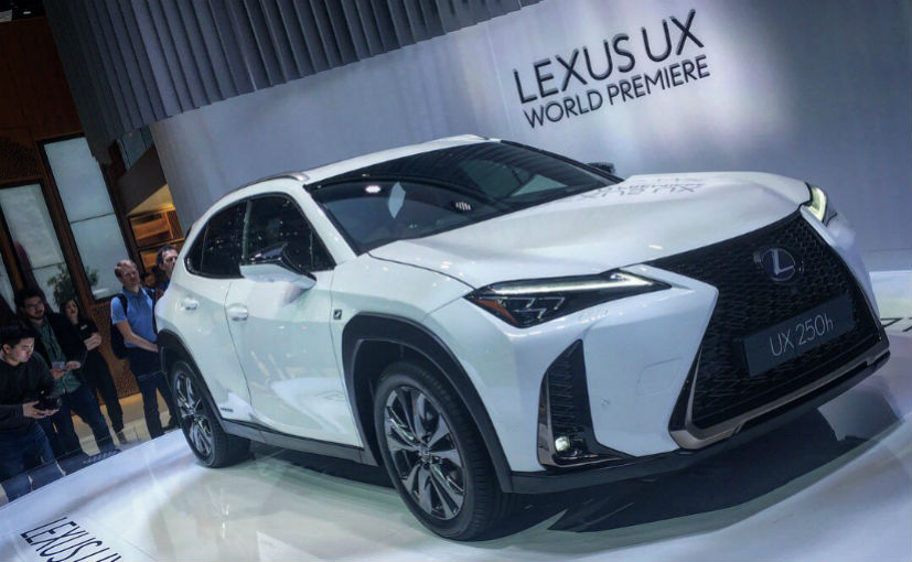 Lexus UX crossover revealed