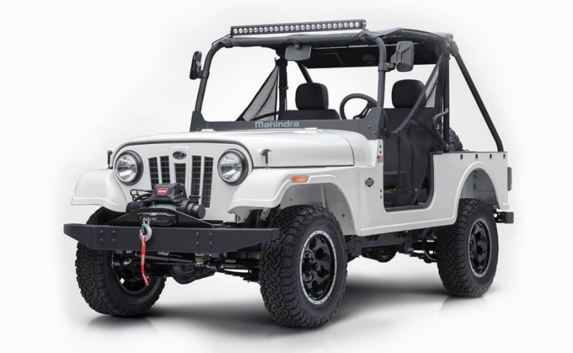 Mahindra Roxor officially introduced for the United States