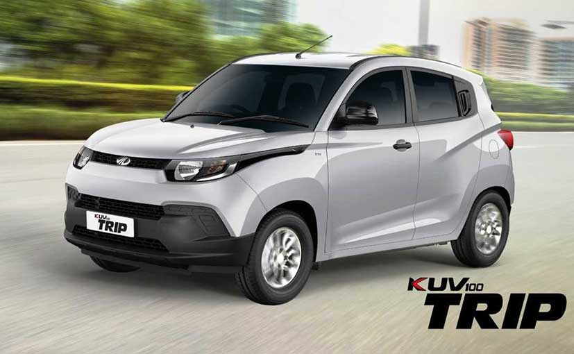 Mahindra KUV100 Trip launched in India