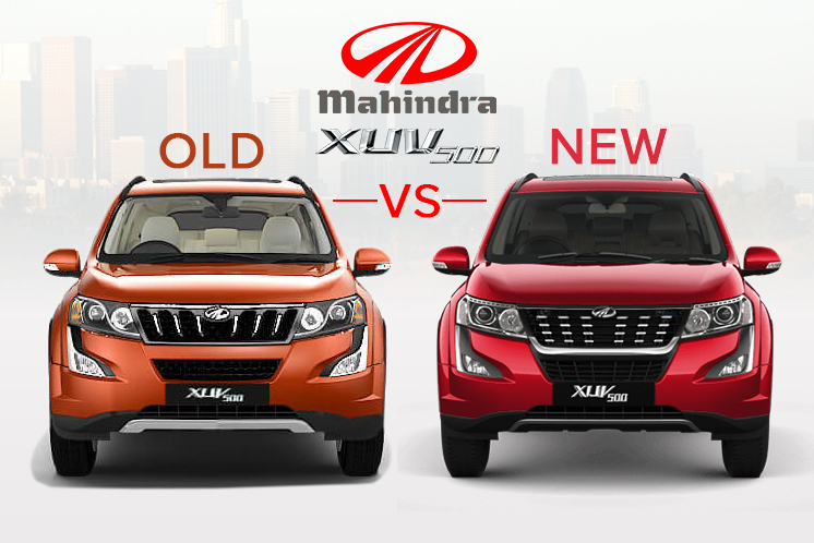 Mahindra XUV 500 Old Vs New