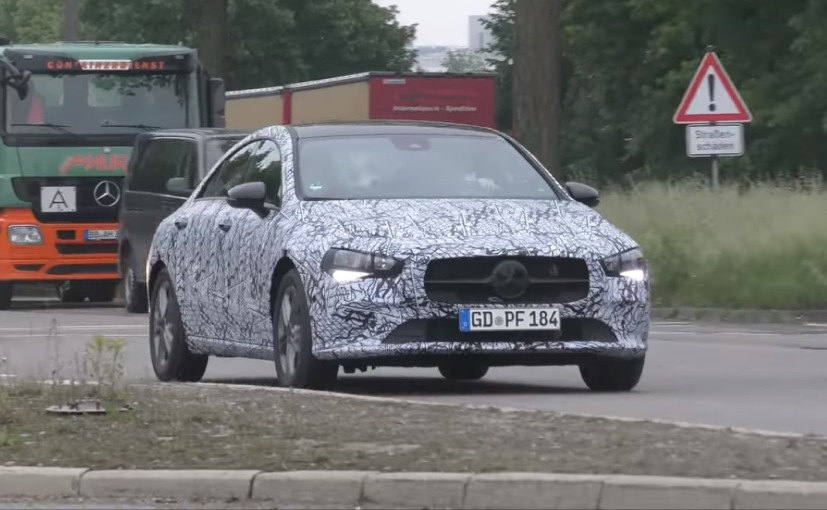 Mercedes-Benz CLA Prototype Spotted