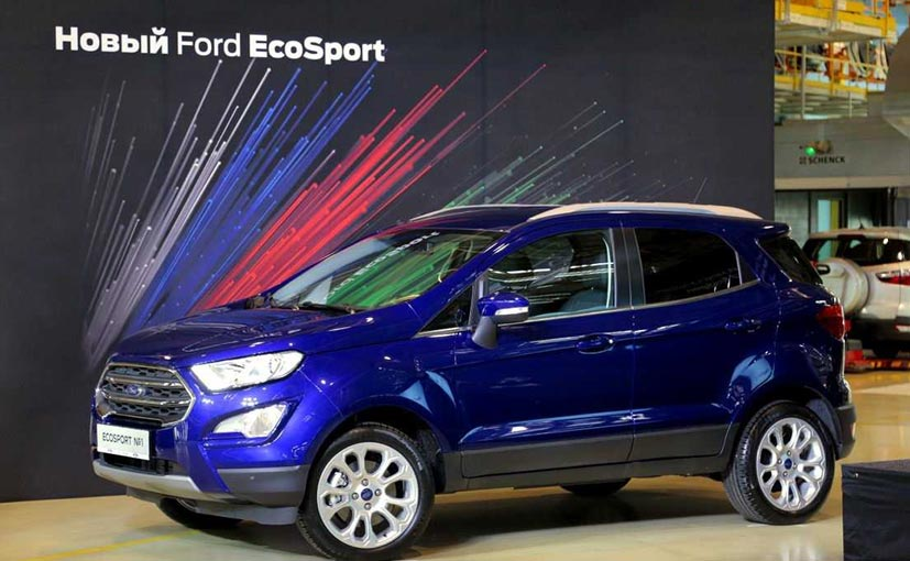 New Ford EcoSport production starts in Russia