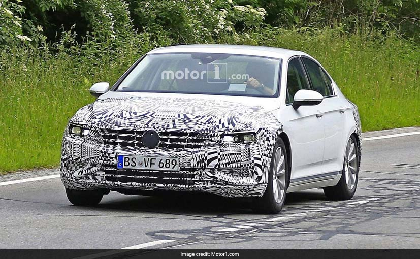 Passat Gets a Facelift in 2018