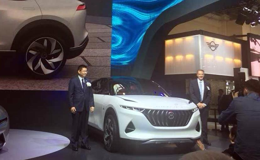 Pininfarina showcases the K350 Electric Concept at the Beijing Motor Show