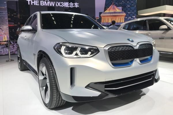 Preview of BMW iX3 before it's unveil
