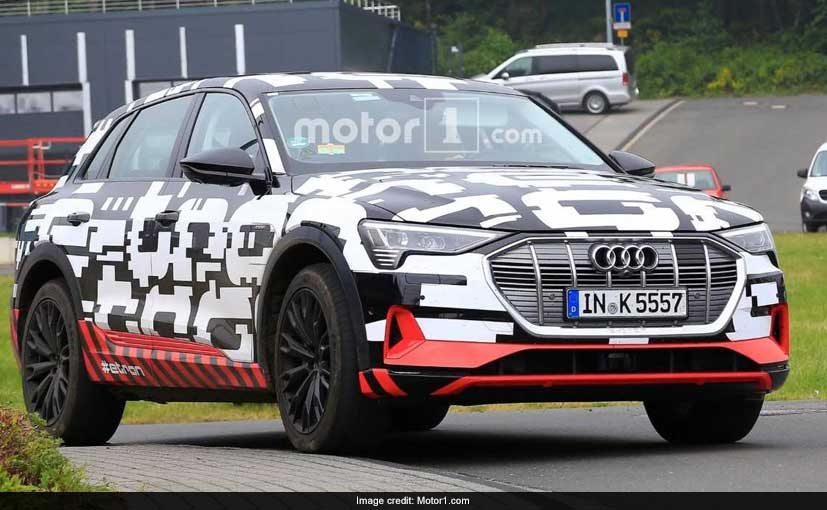 Production-ready components seen for Audi E-Tron