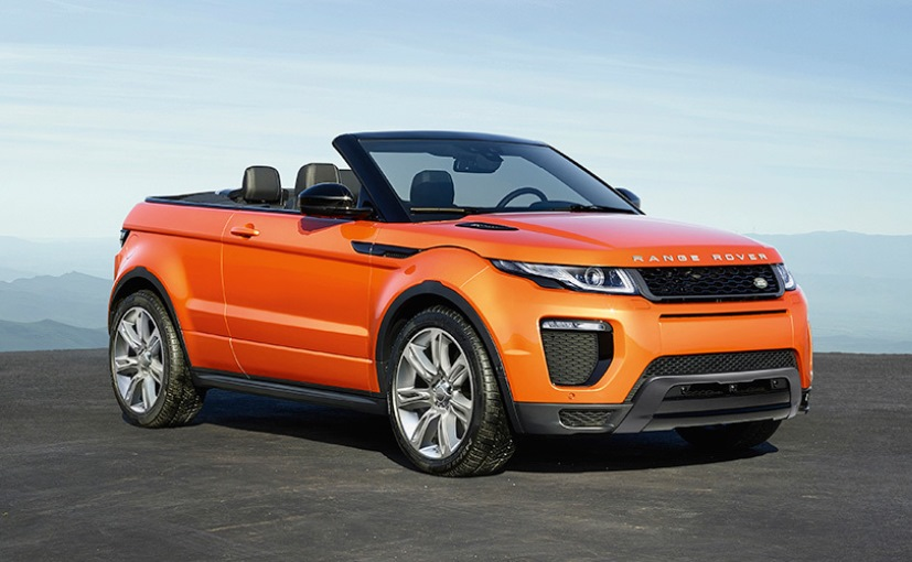Range Rover Evoque Convertible coming this month