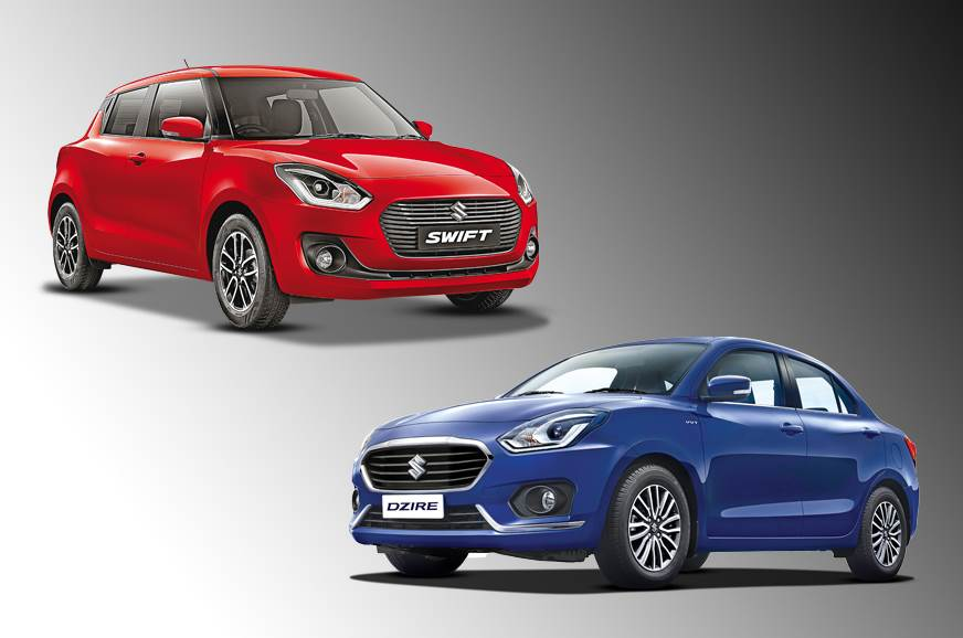Recollection of the new Maruti Suzuki Swift and Dzire