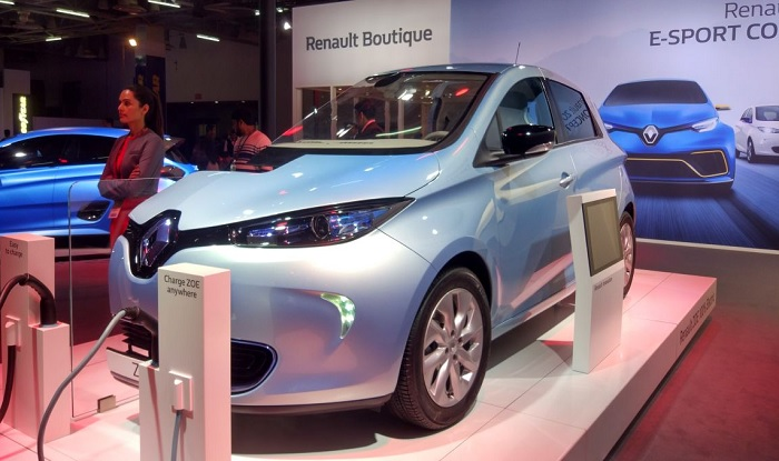 Renault Zoe and Zoe e-Sport concept shown at 2018 Auto Expo