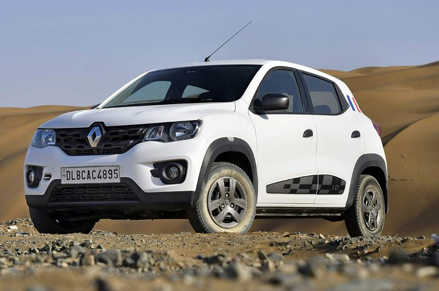 Renault Kwid with reverse camera and attractive features
