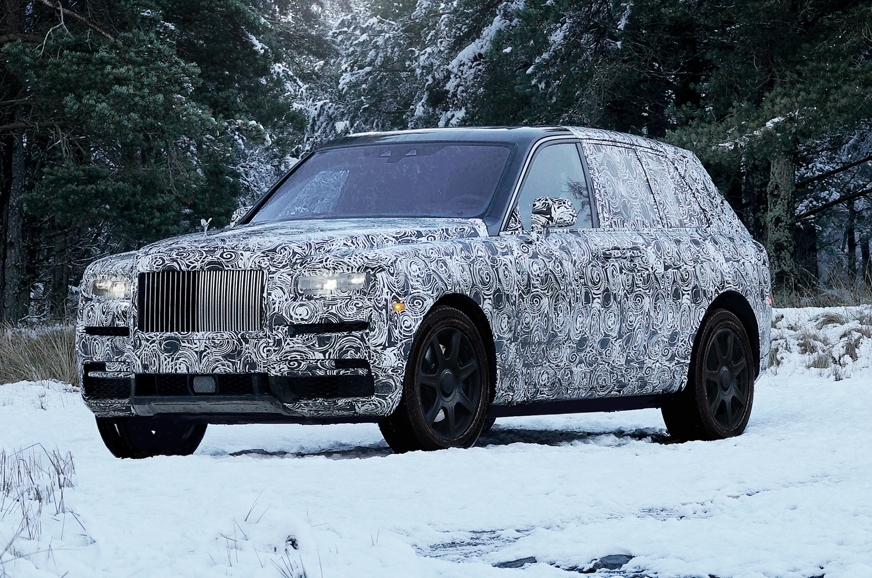 Rolls Royce Cullinan will be shared in the social media way before its launch