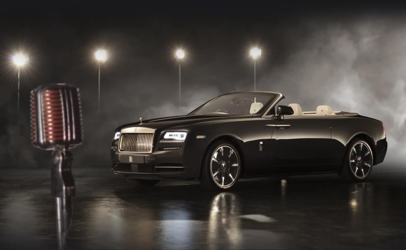 Rolls-Royce Dawn 'Inspired By Music' Unveiled