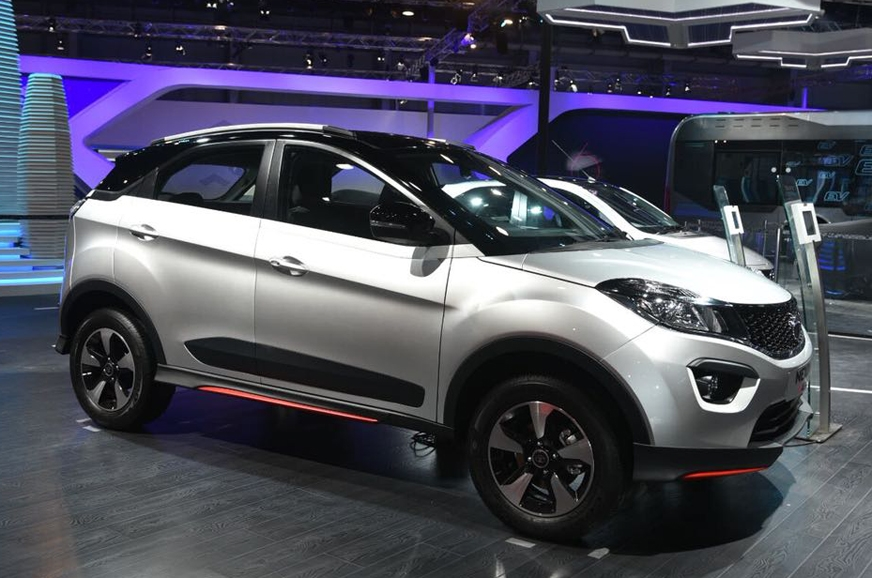 Tata Motors shows Nexon Aero at 2018 Auto Expo