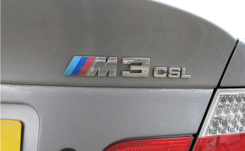 The CSL badge would be revived for the M cars of BMW