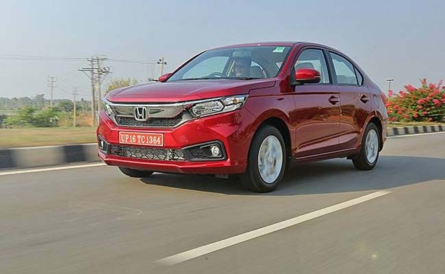 The Honda Amaze might be bringing CVT in the top variant very soon to the market
